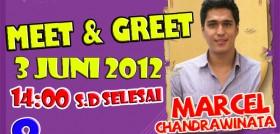 Meet n Greet Marcel Chandrawinata