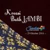 Kreasi Batik Jambi 2014
