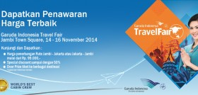 Garuda Indonesia Travel Fair 2014