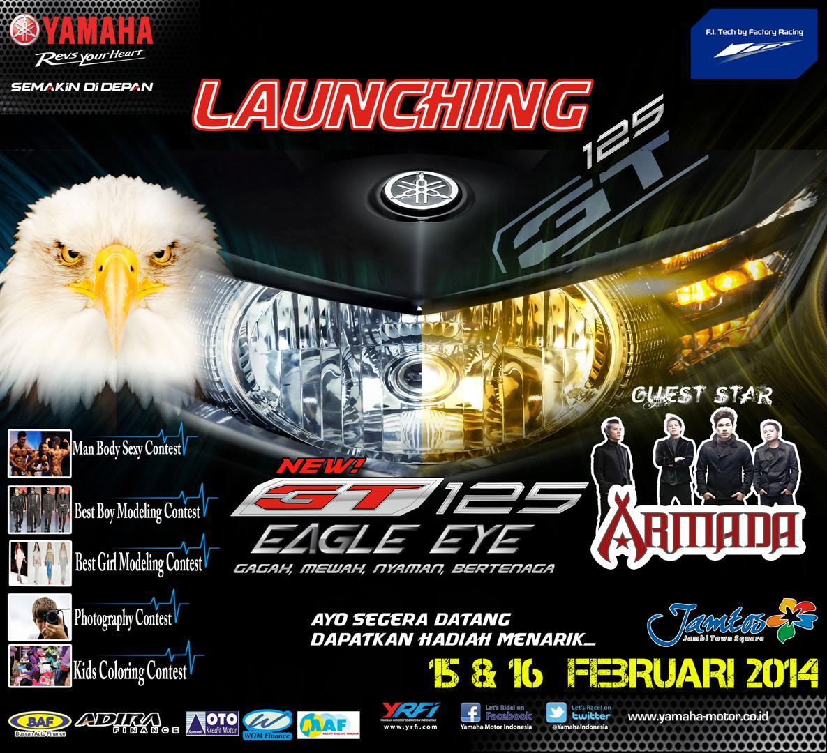 News Yamaha GT125